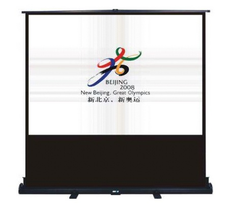 4:3 Portable Pull Up Economy Projector Screen