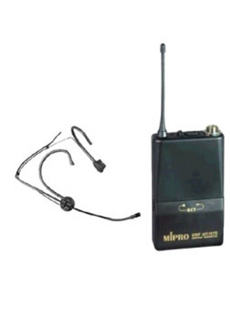 ACT707 Belt Pack Transmitter and Waterproof Headset Microphone pack