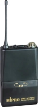 ACT707TE Body(belt)pack Transmitter with free lapel microphone