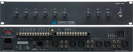 Australian Monitor AMIS120 New 6 Channel Amplifier