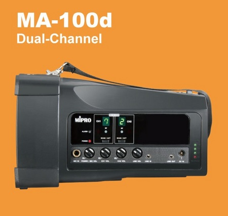 MA100D Personal Wireless Portable PA System