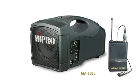 MA101a with Body Pack Microphone and Lapel Personal Portable Sound System