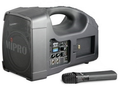MA202 with Rechargeable Handheld Microphone PA Personal Portable Sound System