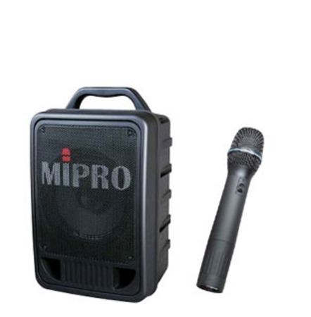MA705PAM6 Portable PA System with Wireless Hand Held Microphone
