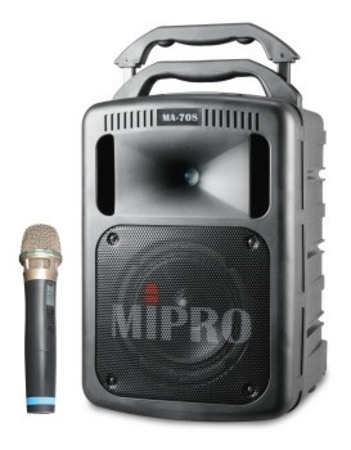 MA708PAM6 Portable PA System with Wireless Microphone