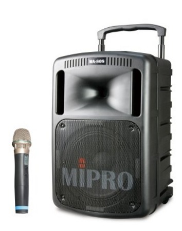 MA808PAM6 Portable PA System with Wireless Hand Held Microphone