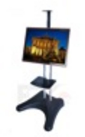 NBH1800 - Plasma/LCD Stand with Shelf