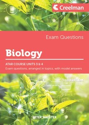 Biology Yr 12 ATAR Course Units 3 and 4 - Exam Questions P Walster