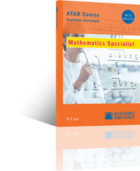 Mathematics Spec. Year 11 ATAR Course Textbook