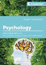 Psychology Yr 12 ATAR Course Units 3 and 4 - Exam Questions Claire Stewart