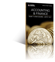 Accounting and Finance Year 11 ATAR Course Study Guide