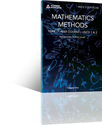 Mathematics Methods Year 11 ATAR Course Study Guide
