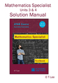 Solutions Manual Mathematics Specialist Year 12 ATAR Course