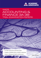 Trial Exam Papers: Accounting and Finance 3AB  by John Cannon