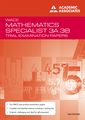 Trial Exam Papers: Maths Specialist 3AB by Neil McNab