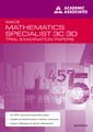 Trial Exam Papers: Mathematics Specialist Yr 12 ATAR by Neil McNab