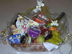 Sweet and Savoury Hamper with Wine