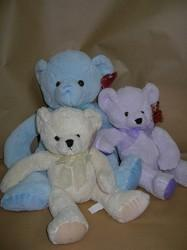 Pastel Towelling Teddies