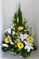 Arrangement in Whites and Lemons