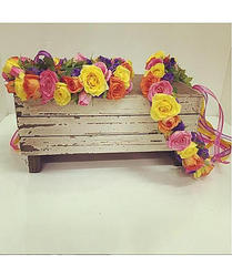 Colourful Flower Crown