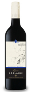 QUEEN ADELAIDE CAB MERLOT 750ML
