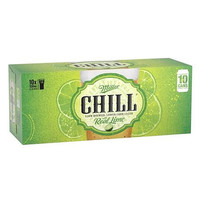 MILLER CHILL CANS 10 CAN PACK 330ML