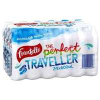 FRANTELLE NATURAL SPRING WATER 24 X 600ML CARTON