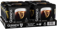GUINNESS DRAUGHT 24 x 440ML CAN CARTON