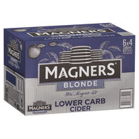 MAGNERS BLONDE CIDER 24 x 330ML STUBBIES