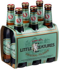 LITTLE CREATURES PILSNER 6 Pack Stubbies