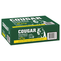 COUGAR and DRY CAN 24 CANS
