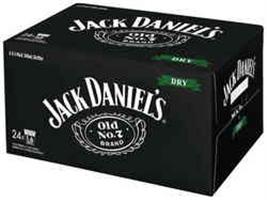JACK DANIELS and DRY STB 330ML 24