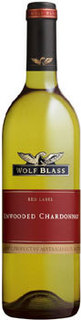 WOLF BLASS RED LABEL UNWOOD CHARDONNAY