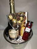 PERRIER JOUET GRAND BRUT GIFT BUCKET WITH 2 FLUTES