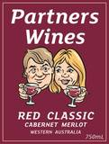 PARTNERS RED CLASSIC CABERNET MERLOT 750ML FROM WESTERN AUSTRALIA