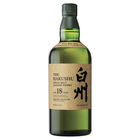 Hakushu 18 Year Old Japanese Whisky 700mL