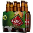 CRISTAL 6 PACK X 330ML 5.1% STUBBIES PORTUGUESE PILSNER