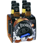JACK DANIELS and LEMONADE 4 PACK STUBBIES 330ML