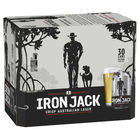 IRON JACK 3.5% LAGER 30 x 375ml CANS CARTON