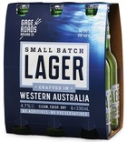 GAGE ROADS SMALL BATCH LAGER 6 PACK 330ML STUBBIES
