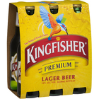 KINGFISHER 6 PACK 330ML STUBBIES