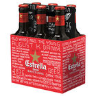 ESTRELLA DAMM LAGER 6 PACK 330ML STUBBIES