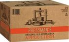PRESSMANS APPLE CIDER 4.2% 24 x 330ML STUBBIES