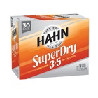 HAHN SUPER DRY 3.5% 30 CAN BLOCK 375ml