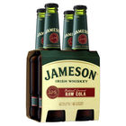 JAMESON and RAW COLA STUBBIES 4 PACK