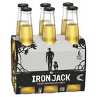 IRON JACK 3.5%  LAGER 6 PACK 330ML STUBBIES