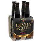 JIM BEAM DEVILS CUT 6.6% 4 PACK 330ML STUBBIES