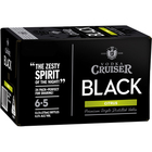 VODKA CRUISER BLACK 6.5% CITRUS 24 X 255ML CARTON