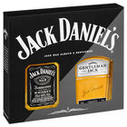 JACK DANIELS 200ML and GENTLEMAN JACKS 200ML GIFT PACK
