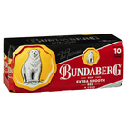 BUNDY RED CANS 10 PACK 375ML